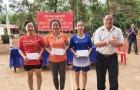 Cao su Việt Lào tổ chức hội thao