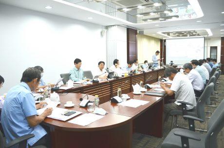 VRG triển khai họp trực tuyến với các đơn vị tại Lào