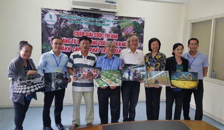 Ban giám khảo, Ban tổ chức  với những tác phẩm đạt giải cao cuộc thi