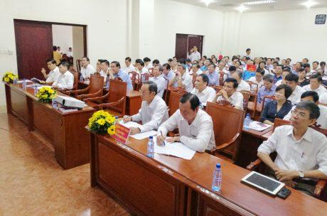 Lãnh đạo VRG tham dự hội nghị.