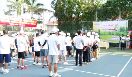Quang cảnh lễ khai mạc giải đấu
