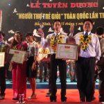 Hai đại biểu VRG nhận giải thưởng Người thợ trẻ giỏi 2014