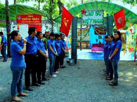 Thuyết trình giới thiệu về trại của ĐTN Cơ quan  VRG