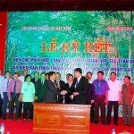 VRG  - tỉnh Điện Biên: Ký kết quy chế phối hợp công tác, thỏa thuận hợp tác toàn diện