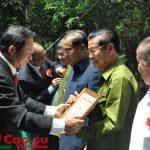 """""""Cao su là sợi dây thắt chặt tình đoàn kết hữu nghị Việt-Lào"""""""