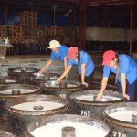 Quy trình sản xuất mủ tờ của công ty cao su Lộc Ninh