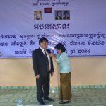 Ông Lê Đình Bửu được tặng thưởng Huân chương Hữu nghị Campuchia