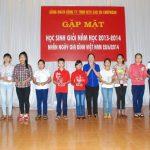 CĐ Cao su Chư Prông tổ chức gặp mặt học sinh giỏi