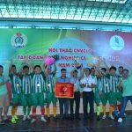 Công ty CP TMDV và Du lịch Cao su đoạt chức vô địch môn bóng đá