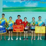 Cao su Phú Riềng tổ chức Giải cầu lông nhân ngày Gia đình VN 28/6
