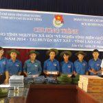 ĐTN Cao su Dầu Tiếng: Tặng hàng trăm phần quà cho học sinh nghèo