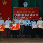 Hội thi thợ giỏi Cao su Chư Prông: Không giảm tiền thưởng