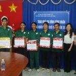 Hội Doanh nhân trẻ VRG tặng 20 phần quà cho CN