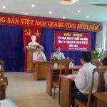Cao su Chư Sê tổ chức đối thoại với người lao động