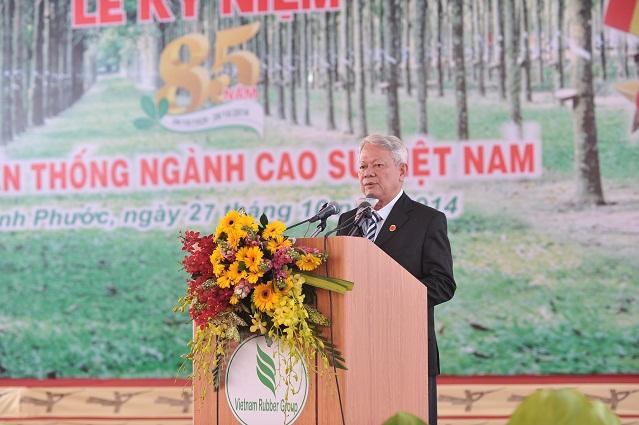 Description: ng Trần Ngọc Thành phát biểu