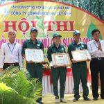 Luyện tay nghề giúp Cao su Tây Ninh giữ năng suất cao