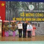 Cao su Lộc Ninh: 100% tập thể về trước kế hoạch