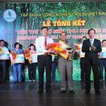 Cao su Chư Păh về nhất tập thể và cá nhân Hội thi Thợ giỏi 2014