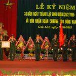 Binh đoàn 15 nhận Huân chương Lao động hạng Nhất