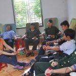Đoàn TN Công ty 75 hiến máu tình nguyện