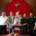 VRG thăm và chúc Tết các đơn vị lực lượng vũ trang