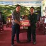 Cao su Kon Tum thăm, chúc tết Bộ đội Biên phòng