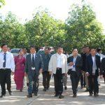 Triển khai xây dựng nhà máy, đào tạo nghề công nhân tại Campuchia