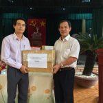 VRG tặng 150 triệu đồng cho cán bộ chiến sĩ huyện đảo Trường Sa