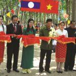 Cây cao su góp phần vun đắp quan hệ hữu nghị Việt - Lào