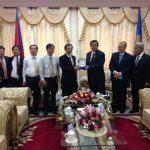 Lãnh đạo VRG chúc Tết cổ truyền Campuchia