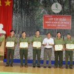 Cao su Lộc Ninh: Tập huấn nghiệp vụ bảo vệ lần VI năm 2015