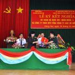 Cao su Đồng Nai kết nghĩa với Sư đoàn Bộ binh 309
