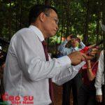 Cao su Phú Riềng phấn đấu năng suất 2 tấn/ha 9 năm liên tục