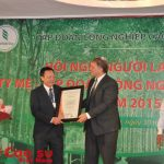 Công ty mẹ VRG nhận chứng chỉ ISO 9001:2008.