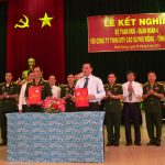 Cao su Phú Riềng kết nghĩa Bộ Tham mưu Quân đoàn 4