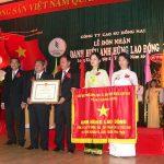 Cao su Đồng Nai: Xứng danh Anh hùng trong chiến đấu và xây dựng đất nước