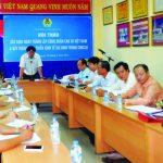 Công đoàn Cao su VN thí điểm thành công họp trực tuyến