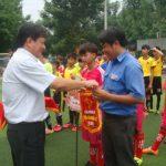 Cao su Bình Long: Khai mạc giải bóng đá U15