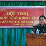 Tuyên truyền pháp luật về biên giới cho CNLĐ Cao su Lộc Ninh