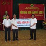 VRG và Công đoàn Cao su VN hỗ trợ 500 triệu đồng xây dựng cột cờ đảo Cồn Cỏ