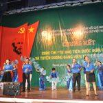 Đoàn TN Công ty mẹ VRG đoạt giải nhất Tiến bước dưới cờ Đảng