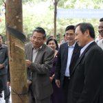 Mở miệng khai thác và khánh thành nhà máy Cao su Tân Biên - Kampong Thom