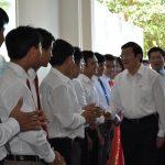 Chủ tịch nước Trương Tấn Sang thăm Công ty CP ĐTPT Cao su Nghệ An