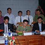 Tăng cường phối kết hợp giữa doanh nghiệp cao su với Công an tỉnh Kon Tum