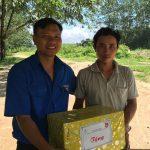 Đoàn Thanh niên Cao su Kon Tum tặng quà Đoàn viên khó khăn