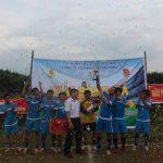 Giải bóng đá Cao su Lai Châu: Văn phòng Công ty đoạt giải nhất