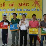 KCN Nam Tân Uyên vô địch Hội thao khối thi đua số 9