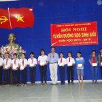 Cao su Tân Biên tuyên dương 83 học sinh giỏi