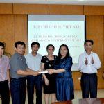Video Clip Tạp chí Cao su VN trao 80 suất học bổng cho con em công nhân