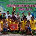 Giải bóng chuyền nam Cao su Dầu Tiếng: NT Long Hòa vô địch